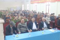 Công an huyện Yên Dũng tổ chức gặp mặt CLB Công an hưu trí nhân dịp Tết Nguyên đán Tân Sửu 2021